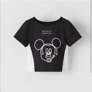 Zara Kids Disney 11-12 Mickey & Minnie Shirt